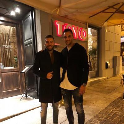 Cagliari, Alberto Cesarini e Charalampos Lykogiannis