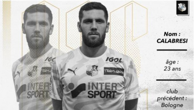 Box to Box - Intermediazione: Arturo Calabresi ceduto in prestito dal Bologna all'Amiens.